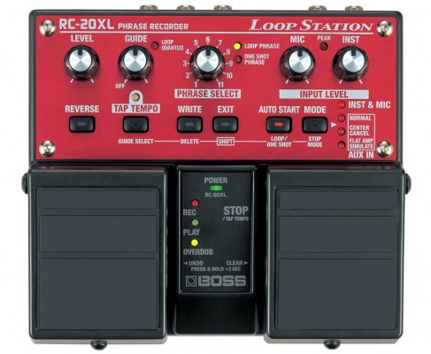 Boss RC-20XL Loop Sampler Pedal