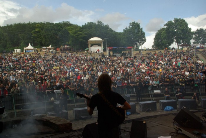 Paul and Loreley Festival Audience