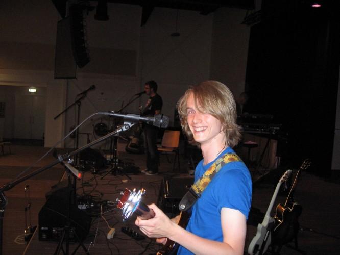 Rehearsin' away