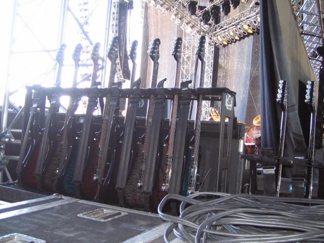 John Petrucci's guitars