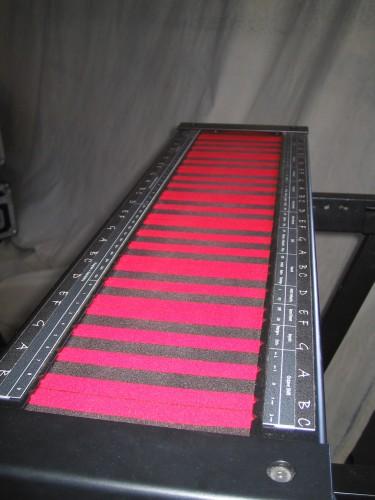 Jordan Rudess's Continuum Fingerboard
