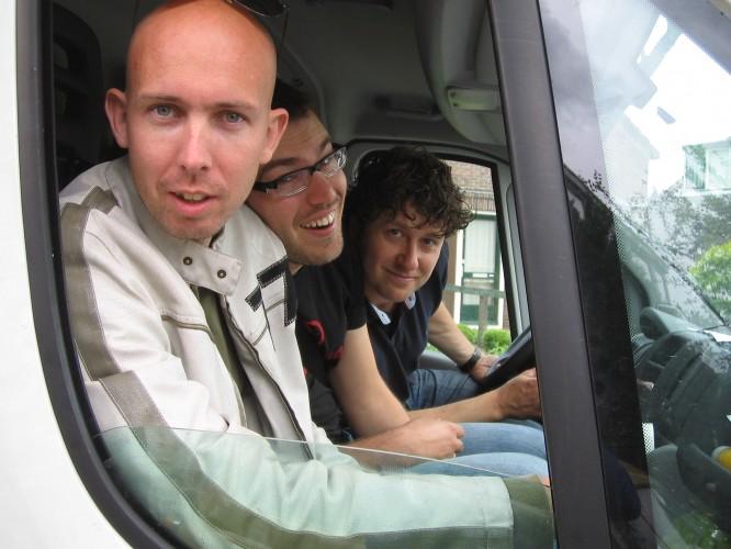 Henk, Wilco and Alco