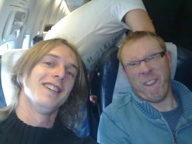 Fun on the plane