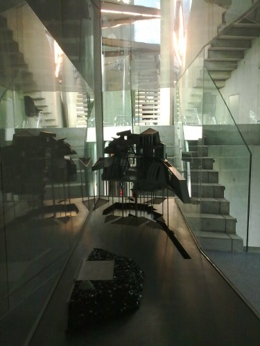 House model and staircases