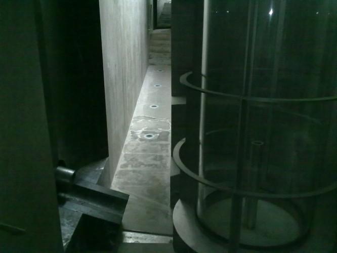 Basement waterworks